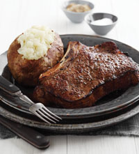 Bristol's Own USDA Choice Cowboy Cut Bone-In Ribeye Steak